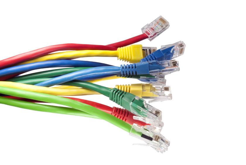 cablaggio cavi Ethernet
